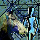 Horse and Rider by Maraia