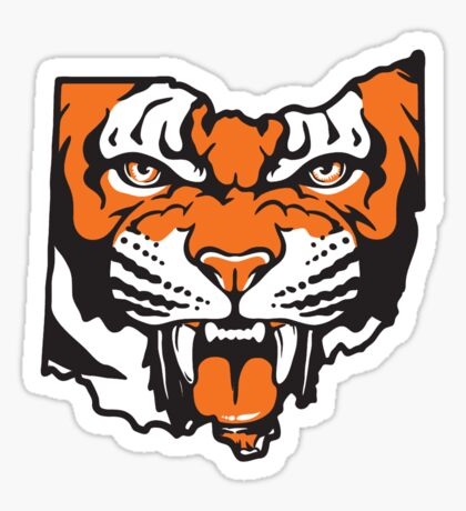 Ohio Bengal Sticker