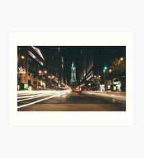 South Broad Street, Philadelphia Art Print