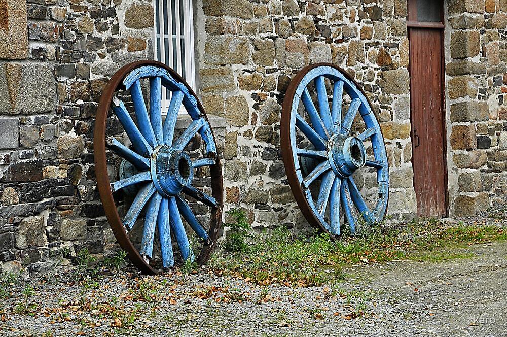 Roues bleues by karo