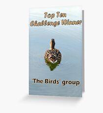 BANNER TopTen BIRDS Greeting Card