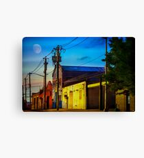 The Streets Of Redhook Canvas Print