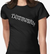Descendre vaguement vers le bas T-shirt col V femme