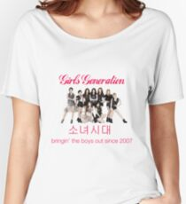 Girls' Generation Gee Logo Women's Relaxed Fit T-Shirt