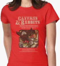 Caverns & Rabbits Women's Fitted T-Shirt