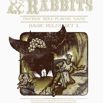 Caverns & Rabbits by JKTees