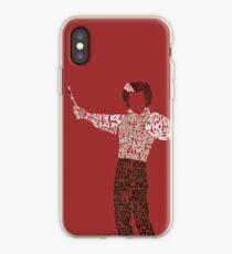 Sweeney Todd - Typography iPhone Case