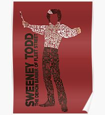 Sweeney Todd - Typography Poster