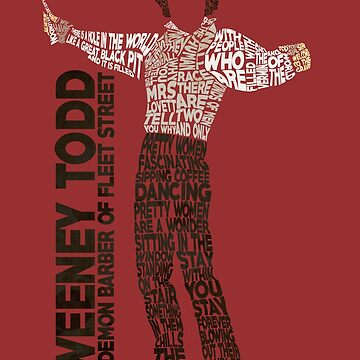 Sweeney Todd - Typography by RellikJoin