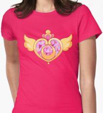 Sailor Moon- Heart Brooch Womens Fitted T-Shirt