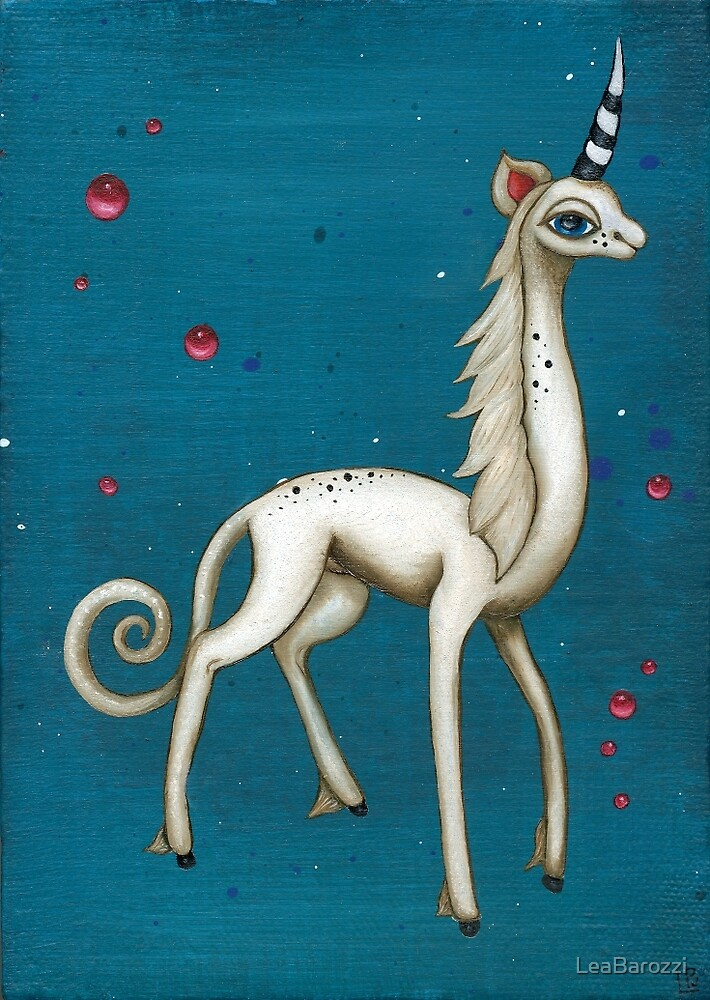 The Last Unicorn by LeaBarozzi