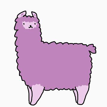 Purple Alpaca by teecup