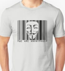 code barre anonymous  T-Shirt