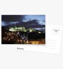 Christmas in Edinburgh Postcards