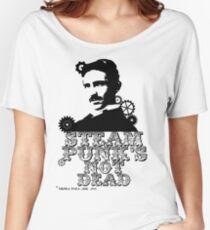 Nikola Tesla was a punk Women's Relaxed Fit T-Shirt