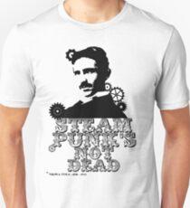 Camiseta ajustada Nikola Tesla era un punk