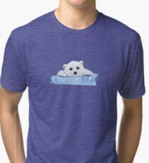 Poor Polar Bear Tri-blend T-Shirt