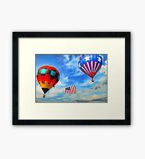 Plano Texas Balloon Festival Framed Print