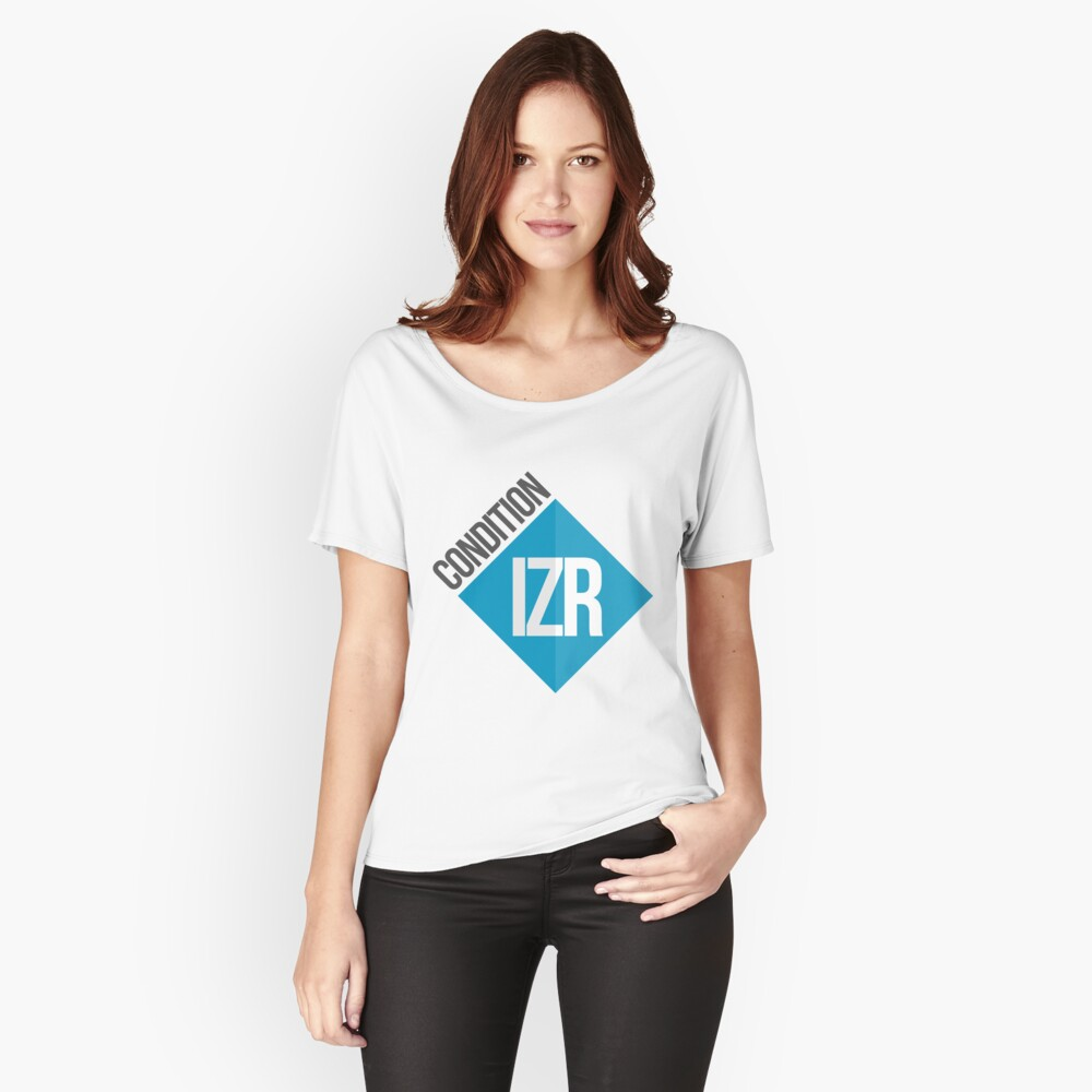 Conditionizr Women's Relaxed Fit T-Shirt Front
