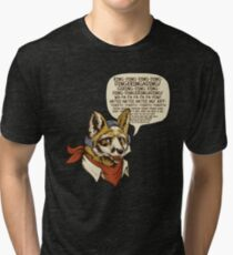 What Does the Star Fox Say? Tri-blend T-Shirt