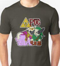 Legend of Pug: Zelda/Pug Cross Unisex T-Shirt