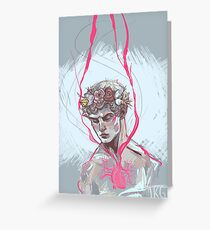 Isaac Lahey Deserves A Flower Crown Greeting Card