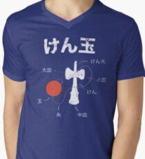 Kendama Anatomy Mens V-Neck T-Shirt