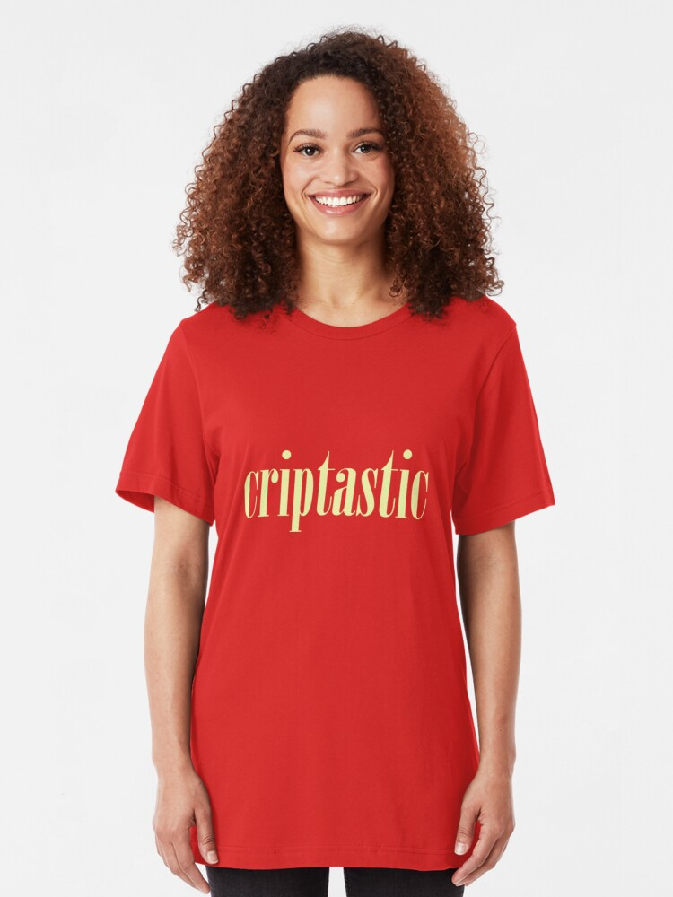 Alternate view of Criptastic Slim Fit T-Shirt