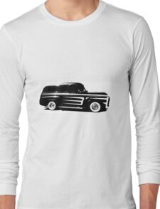 Ford F100 Panel Van Hot Rod Long Sleeve T-Shirt
