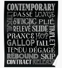 contemporary dance words gifts merchandise redbubble