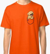 Pocket Puppiez - Golden Retriever Classic T-Shirt