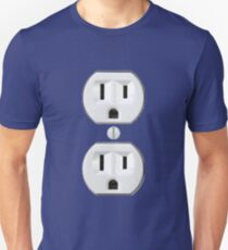 Electrical Outlet Costume T-Shirt