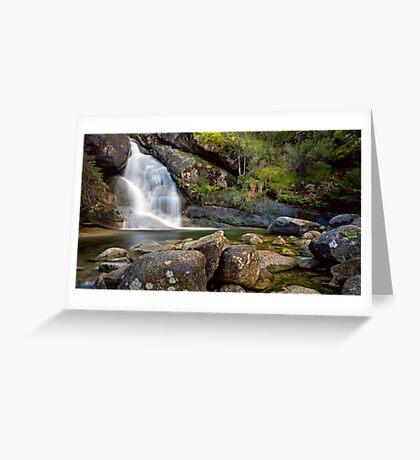 Lady Bath Falls Greeting Card
