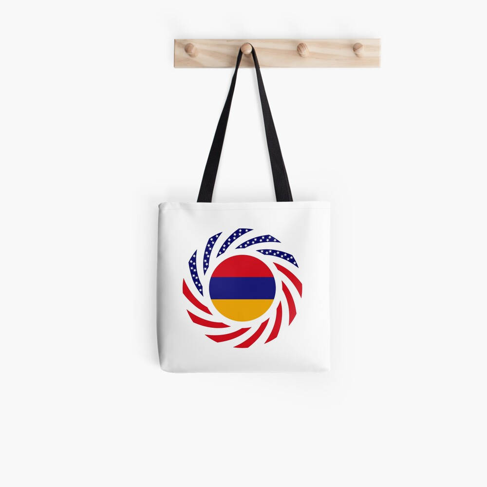 Armenian American Multinational Patriot Flag Series Tote Bag