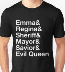 Swan Queen - Emma & Regina  T-Shirt
