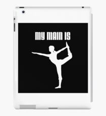 My Main Is Wii Fit Trainer - Female (Smash Bros) iPad Case/Skin