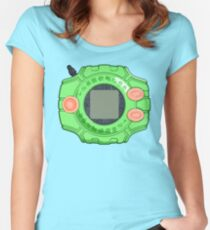Mimi's Digivice Women's Fitted Scoop T-Shirt