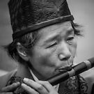 Flautist I by Fernando Rosenberg