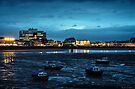 Weston-Super-Mare's Harbour at Night  by MarcW