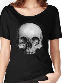 Half Skull Women's Relaxed Fit T-Shirt