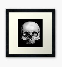 Half Skull Framed Print