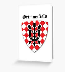Grimms field logo Greeting Card