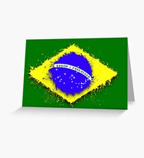 in to the sky, Brazil Greeting Card
