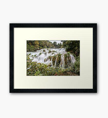 Krka Falls - Croatia Framed Print