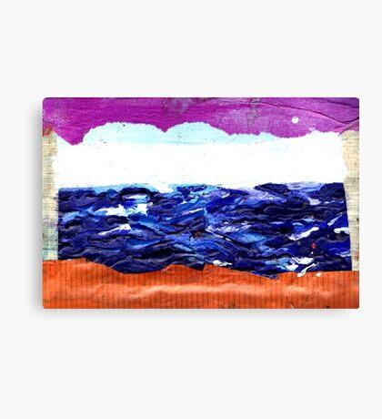 sea window Canvas Print