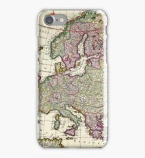 Vintage Map of Europe iPhone Case/Skin
