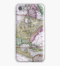 Vintage Map of America iPhone Case/Skin
