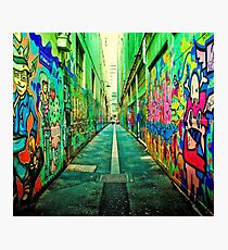 Graffiti color  Photographic Print