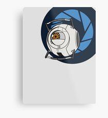 Portal 2 Space Core! Metal Print