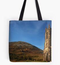 Dunlewey Church and Mount Errigal Tote Bag